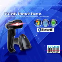 8150BL 3mil 10 m Alcance Visual Portátil Bluetooth Inalámbrico de Códigos de Barras 1D lector USB Wired & Wireless 1D Escáner de código de Barras Para Mac OS X(China (Mainland))