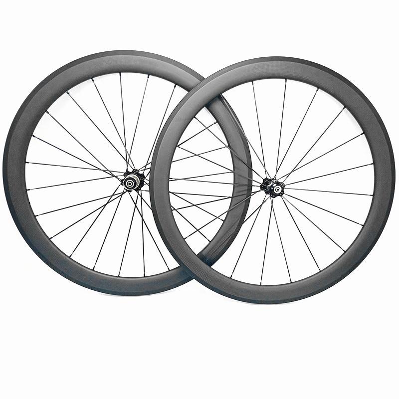 road carbon bike wheels 45mm 3K UD matte 700c clincher tubular 23mm 25mm bicycle road wheels