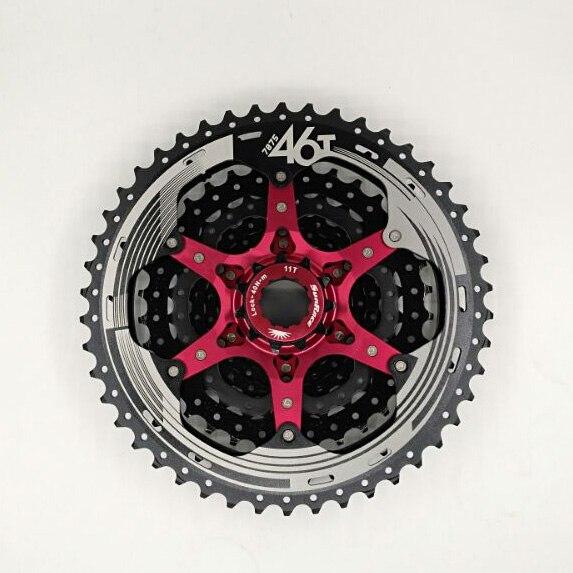 SunRace 10 Geschwindigkeit CSMX3 CSMS3 11-40 t 11-42 t 11-46 t Fahrrad Freilauf Breite verhältnis bike Mountainbike Kassette Werkzeug MTB Schwungrad