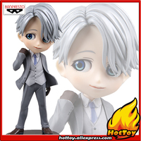 100 Original Banpresto Q Posket Prince Collection Figure Victor Nikiforov Special Color From YURI On ICE