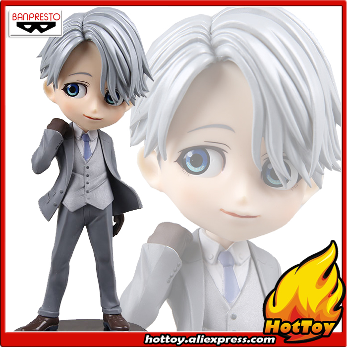 100% Original Banpresto Q Posket Prince Collection Figure Victor Nikiforov (Special Color) from YURI!!! on ICE