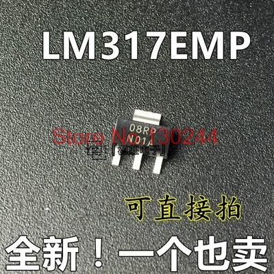 10pcs/lot SOT223 (SMD) three-terminal regulator <font><b>LM317AEMP</b></font> (word N07A), original authentic In Stock image