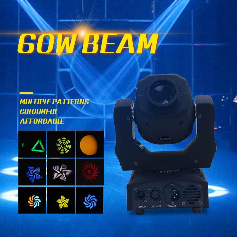 La scène de LED de YA Yao allume le faisceau 7R de 60 watts pour la lumière Disco de DJ KTV et le contrôleur de DMX de lumière principale mobile de Laser d'intense luminosité de partie