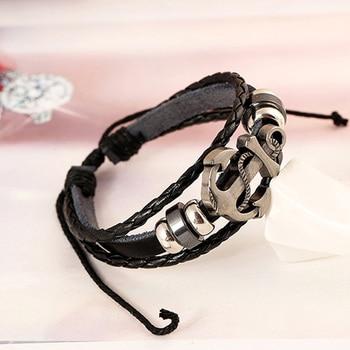 Bracelet Pour Homme Avec Ancre