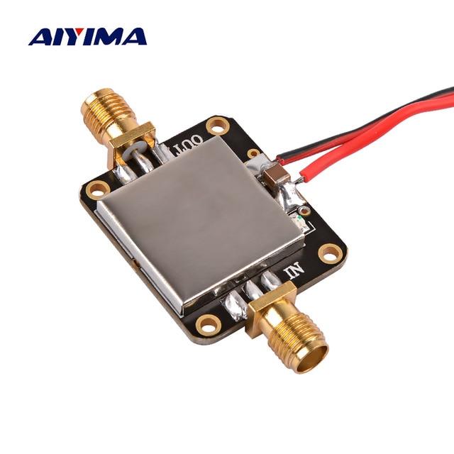 Радиочастотный усилитель AIYIMA 50M 6 ГГц, плата широкополосного усиления, усилитель с низким уровнем шума, средний усилитель, модуль усиления 19 дБ для FM, GPS, Wi Fi