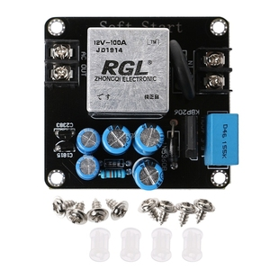 Image 2 - 100A 4000W High Power Soft Start Circuit Power Board Voor Klasse Een Versterker Amp Rental & Dropship