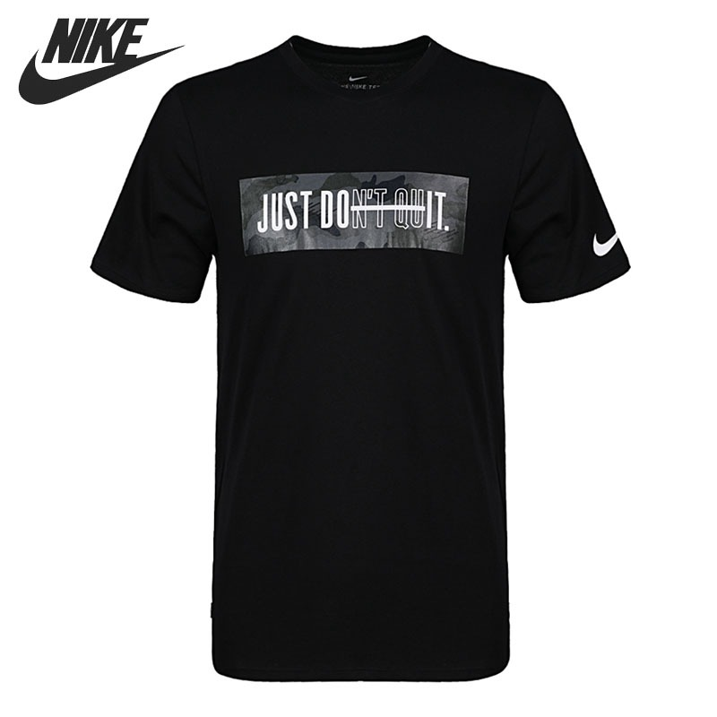 Original New Arrival 2018 NIKE DRY TEE DFC JDQ SSNL Men's T-shirts short sleeve Sportswear original new arrival 2017 nike as m nk dry tee db st bm 1 men s t shirts short sleeve sportswear