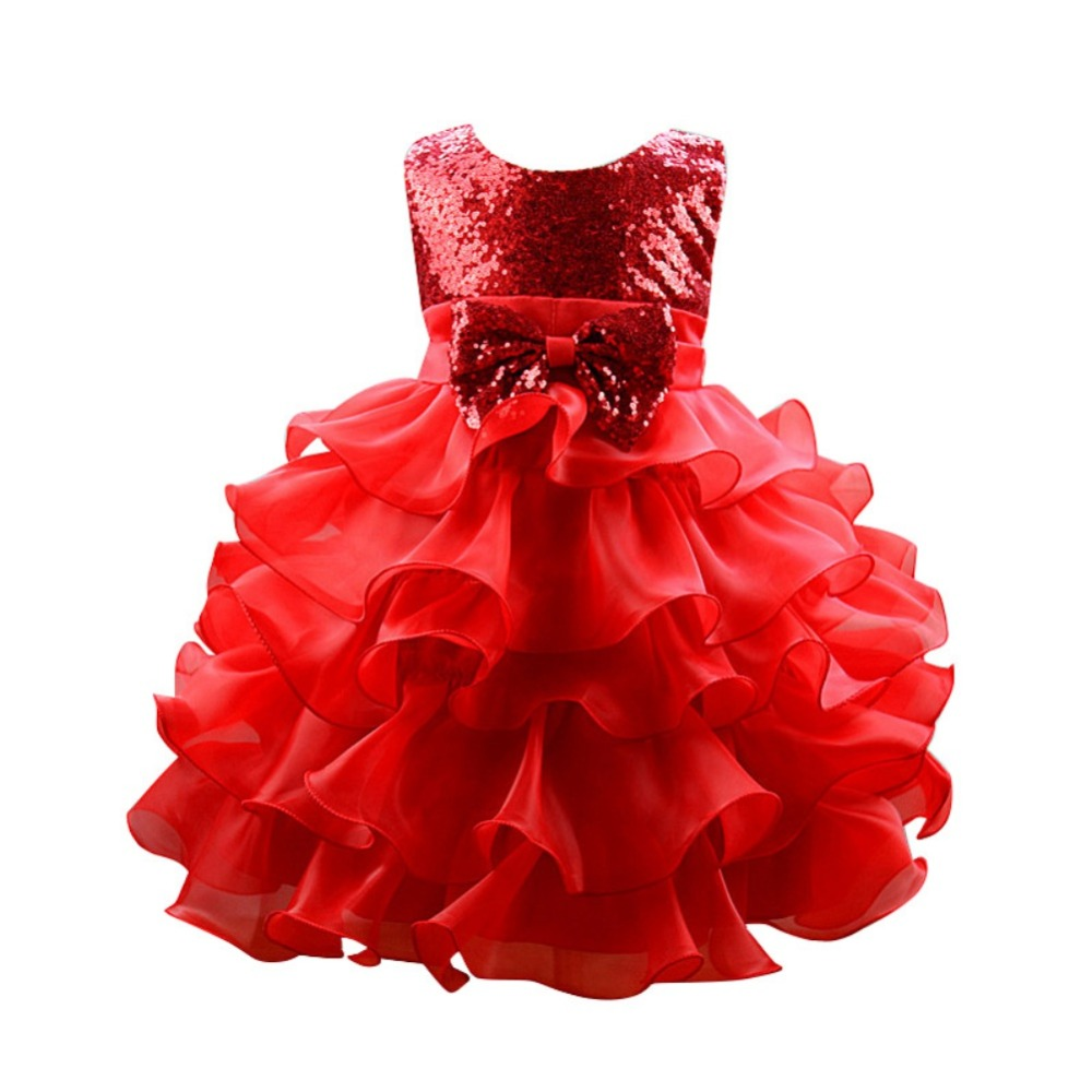 Party Dresses for Girls Baby Girl Clothes Gown Designs Ceremonies ...