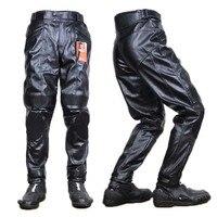popular PU motorcycle DUHAN DK05 pants with armor knee, motocross outdoor pantalon motobike trousers M L XL
