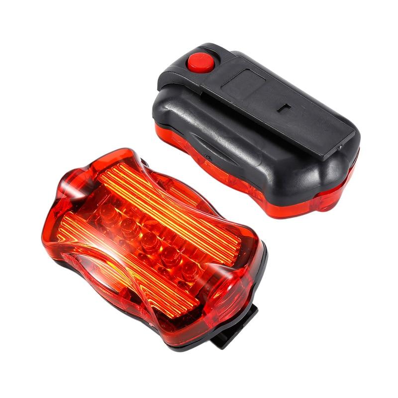 Rear Safety Flashlight+Brake Light LED Lamp Bike Bicycle Front Head Light