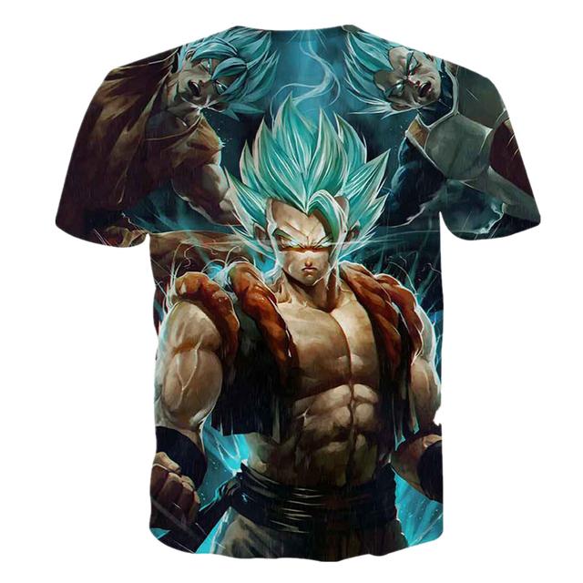 Goku Super Saiyan 3D T-Shirt