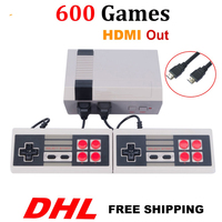 Wholesale 20/40/60/80/100PCS HDMI Out Mini TV Video Game Console Retro handhel Game Console with 600/621 Different Games HD P/N