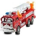 Ребенок denggao пожарная машина игрушка модель автомобиля лестниц пожарная машина автомобиль акустооптическое воин автомобиль 30 СМ
