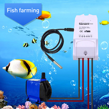 SONOFF TH10 TH16 Switch and Sensor Ds18b20 Waterproof Probe Wifi Temperature Monitoring Remote Wireless Monitor For Smart Home