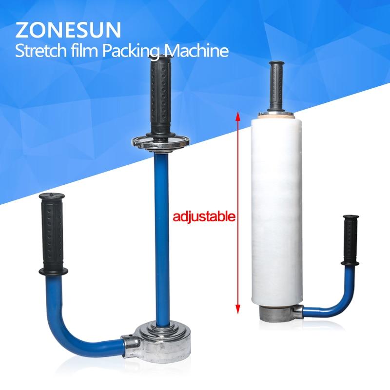 ZONESUN Manual Stretch Film Packing Machine, stretch film tool