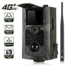 SUNTEKCAM Cámara de rastreo HC 550LTE 4G para caza, 16MP, foto, vídeo de seguimiento, juego de cámaras, correo electrónico, MMS, SMS, IR, trampa para cámara de caza