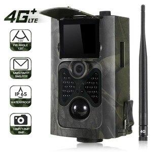 Image 1 - SUNTEKCAM HC 550LTE 4G Trail Camera Hunting 16MP Photo Video Tracking Game Cameras Email MMS SMS IR Camera Trap Hunting Camera