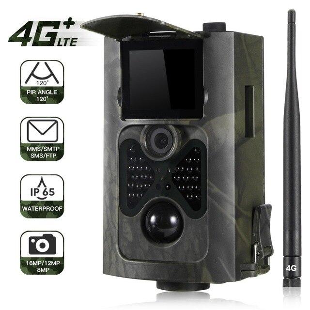 SUNTEKCAM HC 550LTE 4G Trail Camera Hunting 16MP Photo Video Tracking Game Cameras Email MMS SMS IR Camera Trap Hunting Camera