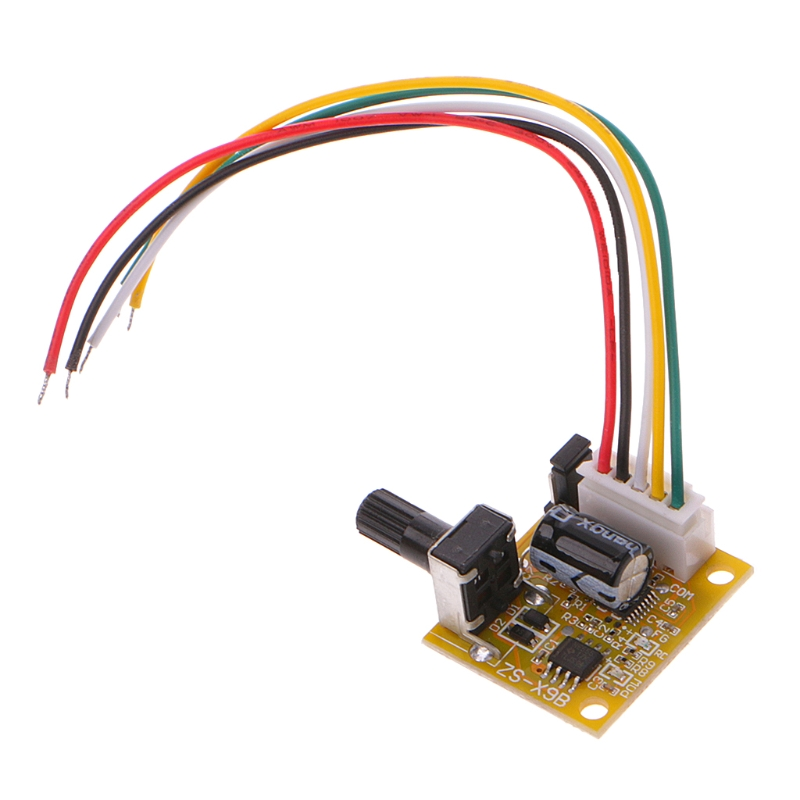 DC 6-50V 3 Phases Brushless Motor Controller BLDC PWM PLC Driver Board No Hall