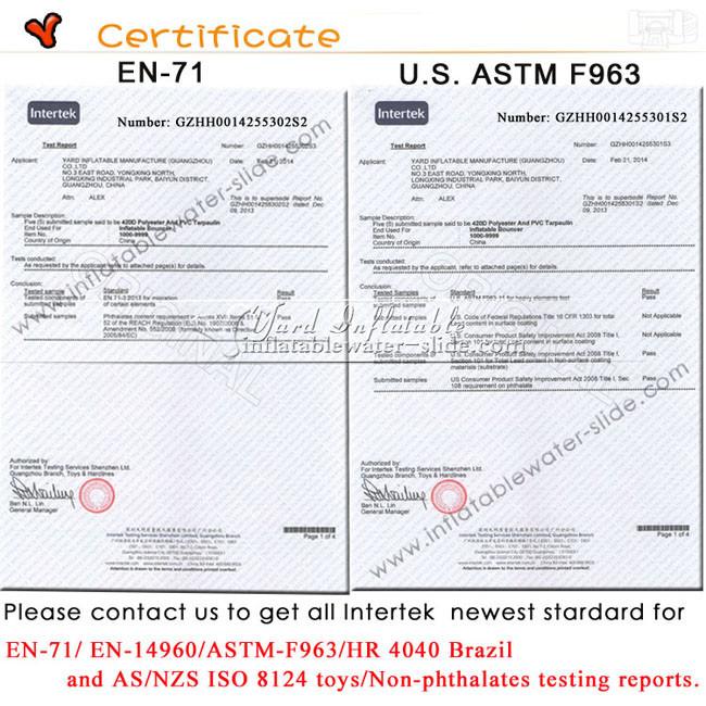 Certificate650