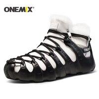 Onemix Winter Women Boots Running Shoes For Men Outdoor Trekking Shoe Sneakers Walking Shoes Autumn Winter
