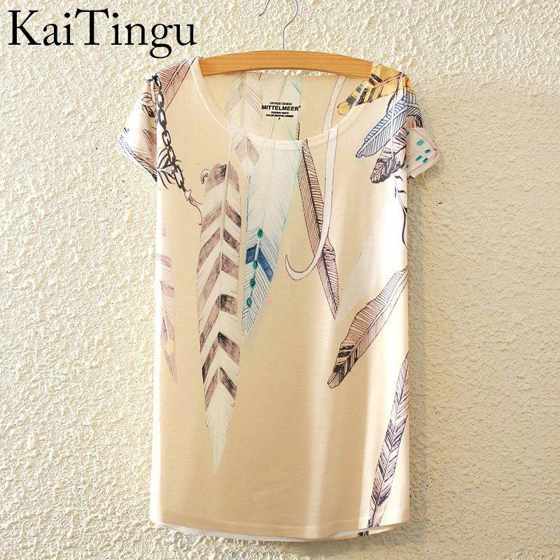 HTB1wWV0LpXXXXXVXpXXq6xXFXXXK - New Fashion Summer Animal Cat Print Shirt O-Neck Short Sleeve T Shirt