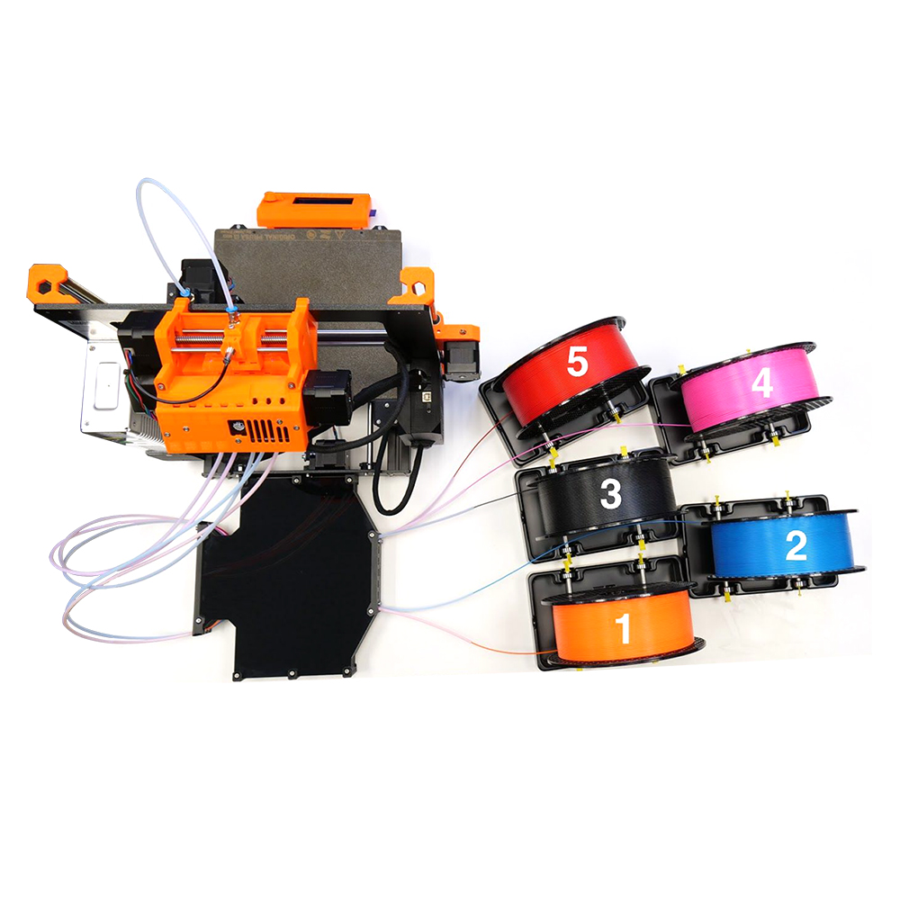 Clone Prusa i3 MK2.5S MK3S MMU2S Kit complet (sans pièces d'imprimante) pour Prusa i3 MK2.5S/MK3S Multi matériel 2S Kit de mise à niveau