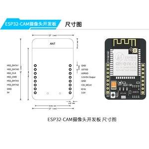 Image 5 - ESP32 CAM WiFi + Bluetooth Module Camera Module Development Board ESP32 with Camera Module OV2640 2MP with IPEX antenna