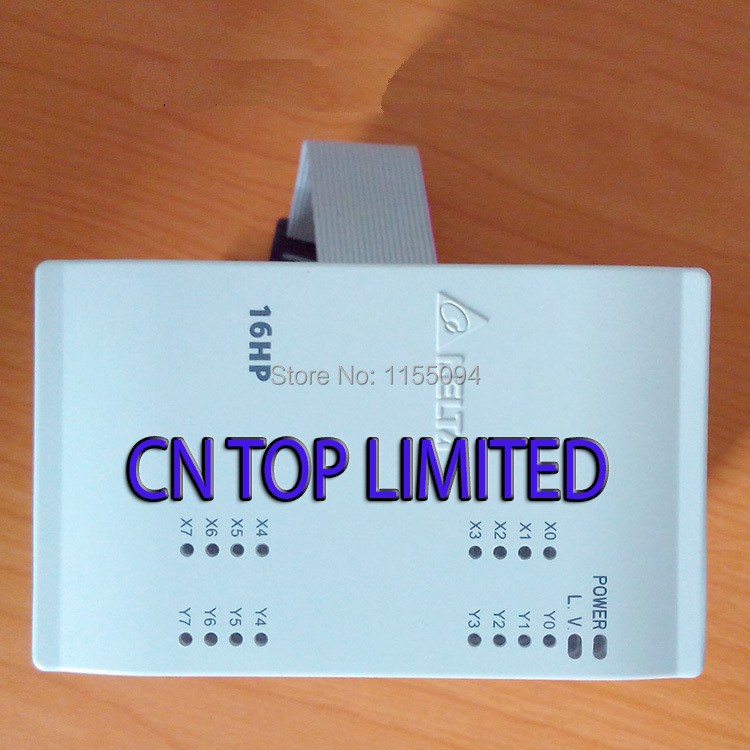 DVP16HP11T Delta EH2/EH3 Series PLC Digital Module DI 8 DO 8 Transistor new in box dvp16sp11t delta s series plc digital module di 8 do 8 transistor npn new in box