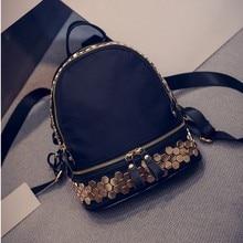 Le rivet petit nylon mode sac à dos Beauté mignon vintage sacs décoration En Métal de haute qualité femmes sacs Frais voyage sacs
