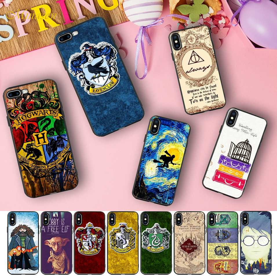 77764aa101 Minason Harry Potter Dobby Soft Silicone Phone Case for iPhone X 5 S 5S XR  XS