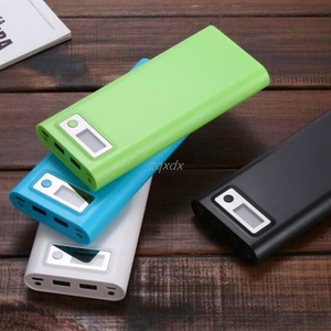 Image 3 - Dual USB 8x 18650 Battery DIY Holder LCD Display Power Bank Case Box For iphone