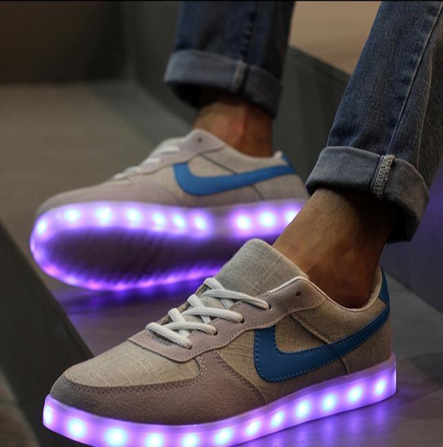 Mens Casual Luminous Shoes Fashion LED Shoes  PG08XK0TT