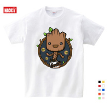 2019 Baby I Am Groot T Shirt For Kids Summer Short Sleeve Tee Tops Children Funny T-shirts Boy Girls Lovely Cartoon printing Top