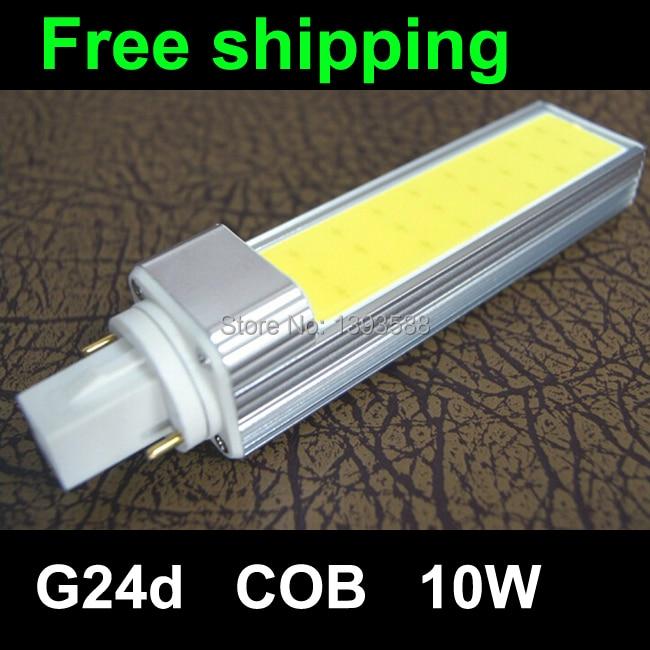 AC85-265V led bombilla 5W 7W 9W 10W 11W cob g24d-1 g24d-2 g24d-3 Focos LED Spotlight Horizontal Plug Bulb Lamp