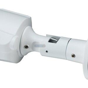 Image 5 - 5MP IP камера видеонаблюдения H.265 Onvif Metal Bullet Водонепроницаемая видеонаблюдение 48V PoE сетевой массив уличная видео наблюдение