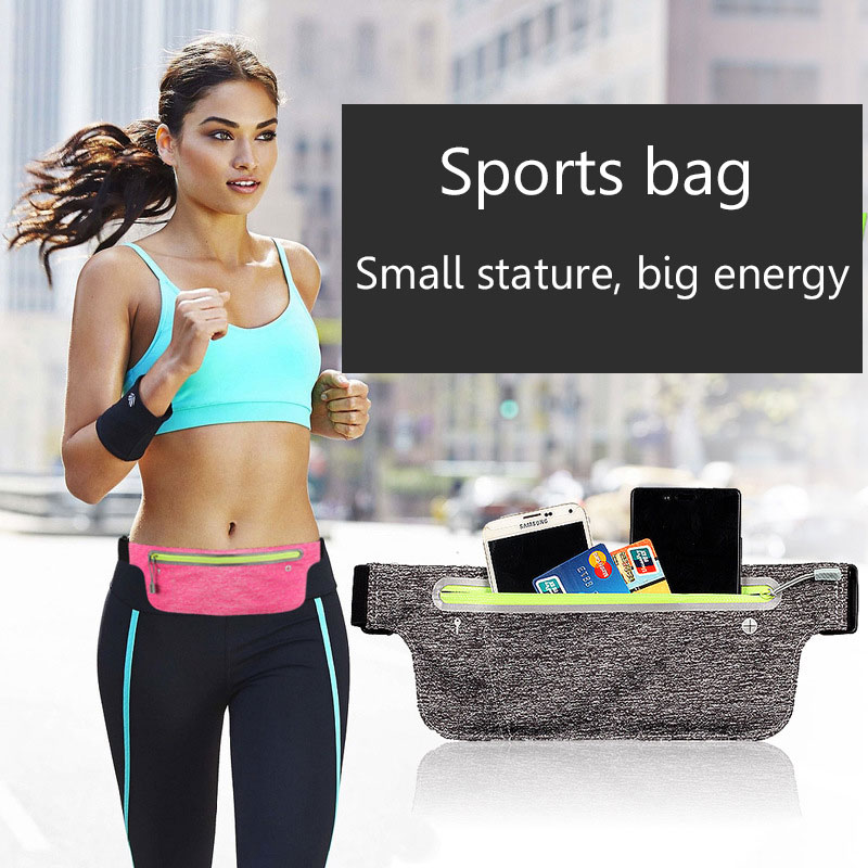 Apparel Accessories Sports Mobile Wallet Running Multifunctional Outdoor Waterproof Belt Light Invisible Body-fitting Wallet