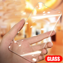 2PCS HD Protective Glass For iPhone X XS Max XR 5s Glass Screen Protector For iPhone X XS 8 7 6 6S Plus Tempered Glass Back Film protective plastic back case tempered glass screen guard set for iphone 6 4 7 translucent white