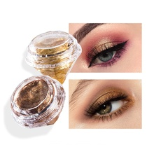 6 Colors Pigment Make Up Diamond Liquid Beauty Eye Shimmer Cosmetics Shadow Charming Eyeshadow Palette