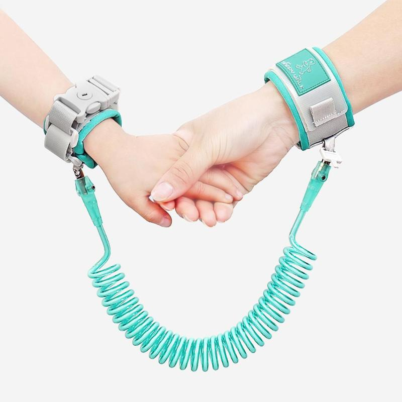 Outdoor Activity Protection Prevent Loss Adjustable Safety Harness Child Wrist Leash Anti-lost Link Traction Rope Harnesses