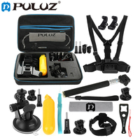 PULUZ 20 in 1 Accessories Combo Kits with EVA Case for GoPro HERO6 5 4 Session 4 3 + 3 for Xiaoyi and Other Action Camera