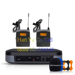 Pro wireless microphone High-end 2-channel microphone Lapel 2 Headset Automatic infrared automatic search frequency G-3