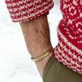 Titanium Stainless Steel Vintage Men Retro Brass Gold Cuff Bangle Bracelets Jewelry Women bijoux famous brand pulseras