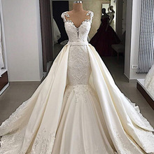 Eslieb High-end wedding dress 2019 mermaid wedding dresses