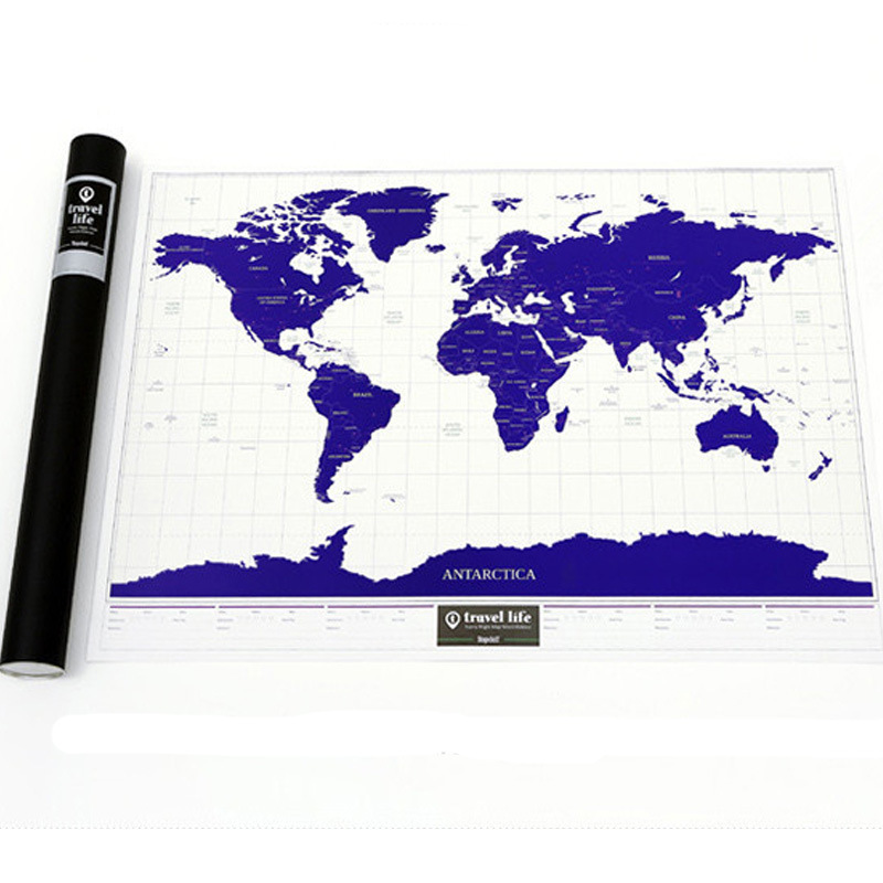 Luminous deluxe scratch off world map new luxury home decor world luminous deluxe scratch off world map new luxury home decor world map wallpaper wall stickers in wall stickers from home garden on aliexpress gumiabroncs Choice Image