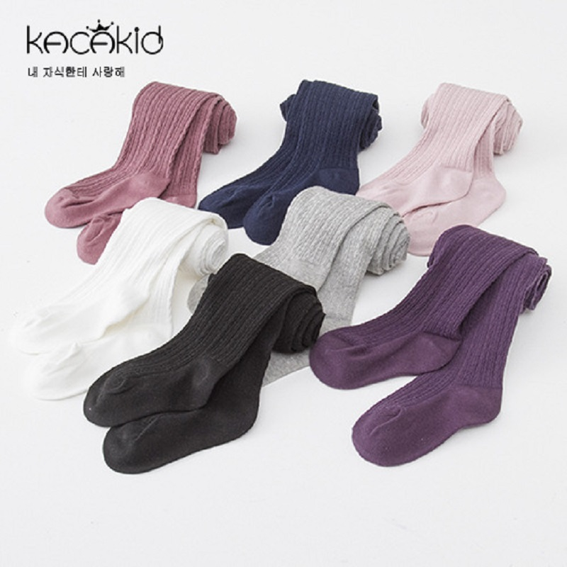 Kacakid Baby cotton pantyhose kids candy color Tight baby girls sweet tights Baby Stockings стоимость