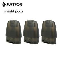 15 шт. JUSTFOG Minifit Pod для JUSTFOG minifit электронная сигарета стартовый набор паровой кальян электронная сигарета Pod 1,5 мл бак