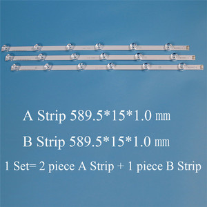 "Image 3 - TV Backlight Strip For LG WOOREE A B 32LF HD TV LED Strips LGIT A B Strip INNOTEK DRT 3.0 32"" DRT3.0 REV0.9 Kit Bars Lamps Bands"