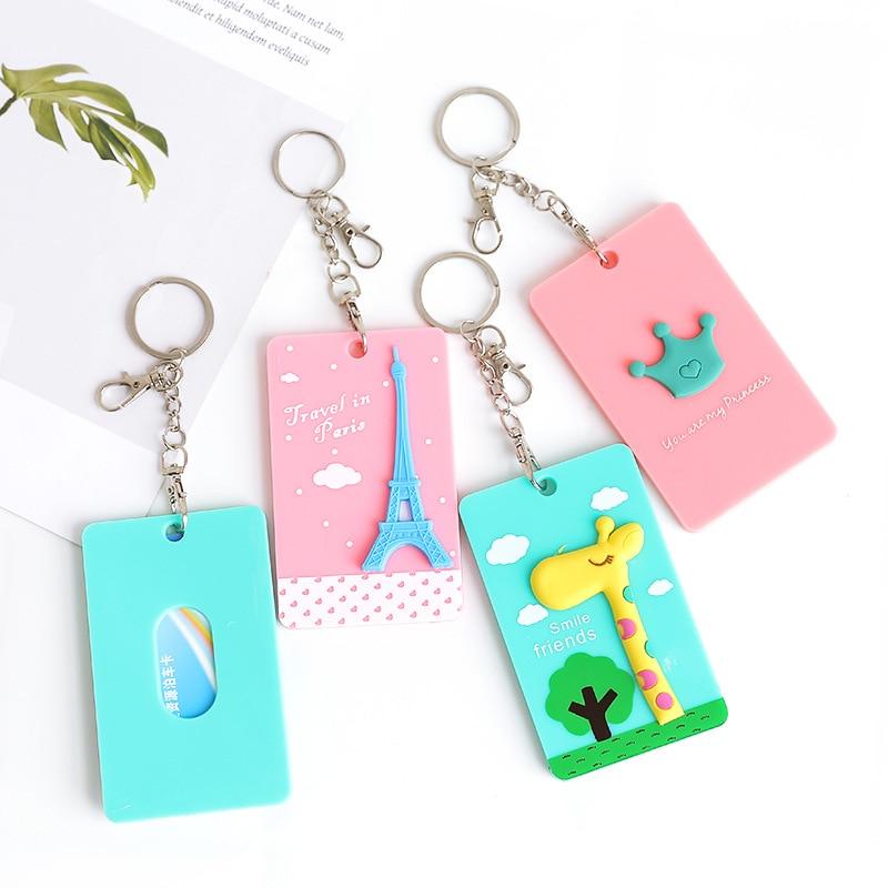 PVC Badge Holder & Zubehör ID kartenhalter Kreditkarte Bus fall Cartoon Panda Totoro schreibwaren