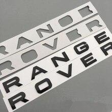 3D ABS стайлинга автомобилей передний капот/реальный автомобиль эмблемы Стикеры буквы спортивный Стиль для Range Rover Evoque знак интимные аксессуары